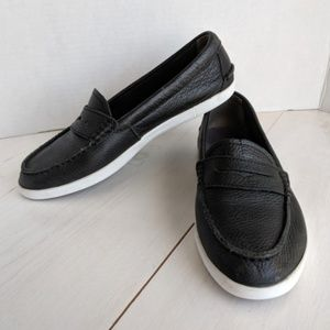 Cole Haan black leather Nantucket loafer. 8